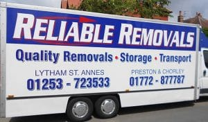 House removals Blackpool and Preston