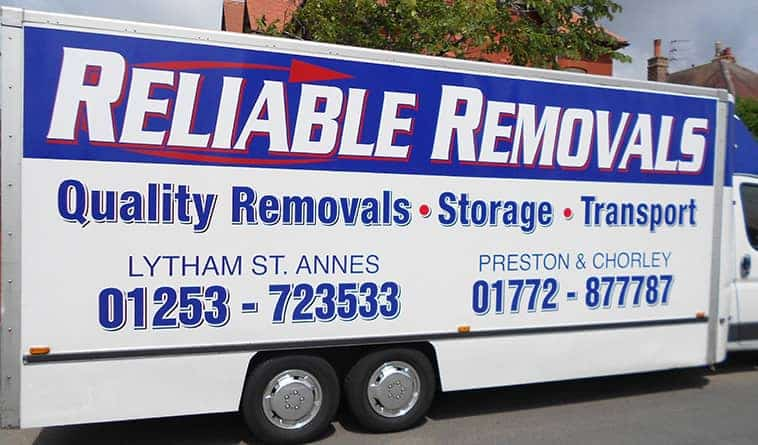 removals Blackpool & Preston